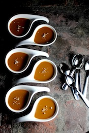 Salted Caramel Brown Sugar Pots de Creme