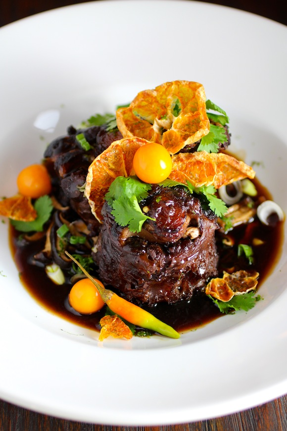 Braised Oxtail with Korean Jeju Mandarin Orange