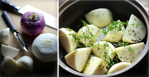 Turnip confit recipe