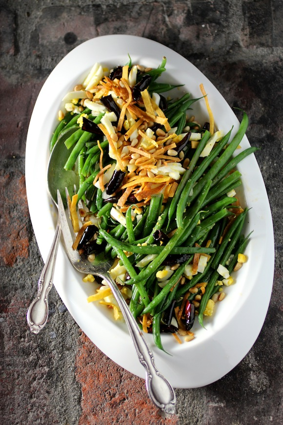 French Green Beans, Mexican-Style