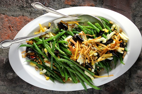 French Green Beans, Mexican Style