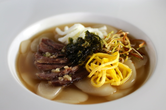 Tteokguk (Korean Rice Cake Soup)