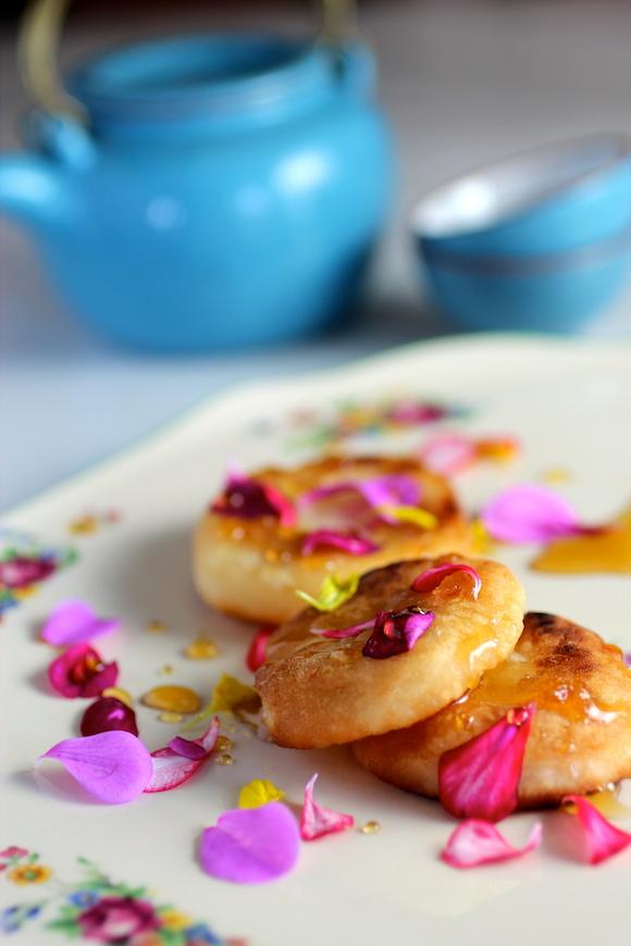 rice tea cakes - hwa jeon