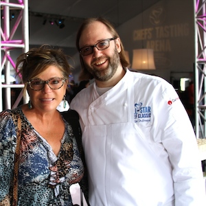 with chef wylie dufresne @ all-star chef classic