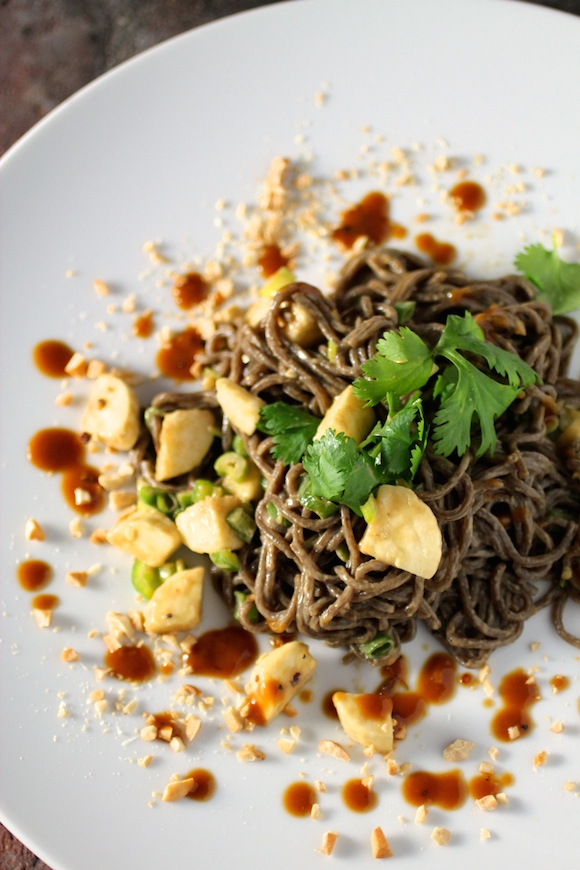 Cold Noodles With Peanut Sauce Recipe — Dishmaps