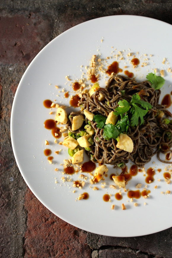 Cold Fusion Cuisine: Noodles, Peanut Butter Sauce, Banana - Taste With ...