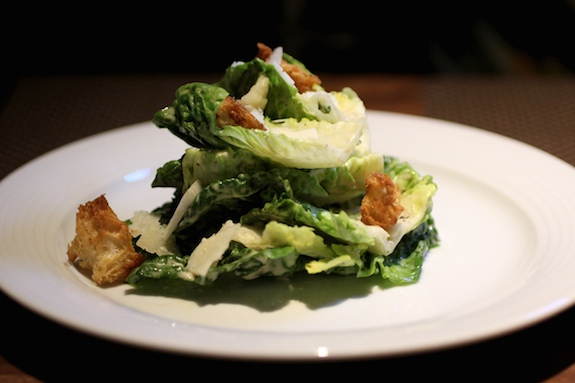 CAESAR little gem, white anchovies, grana padano
