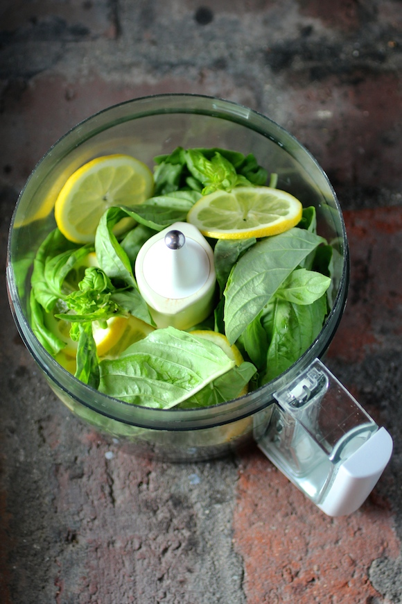 Lemon Basil Sauce