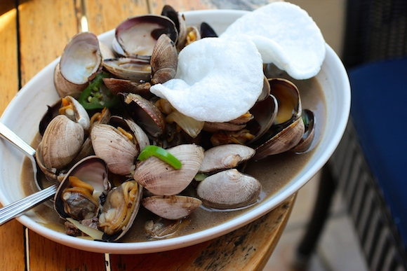 Stir Fried Manila Clams