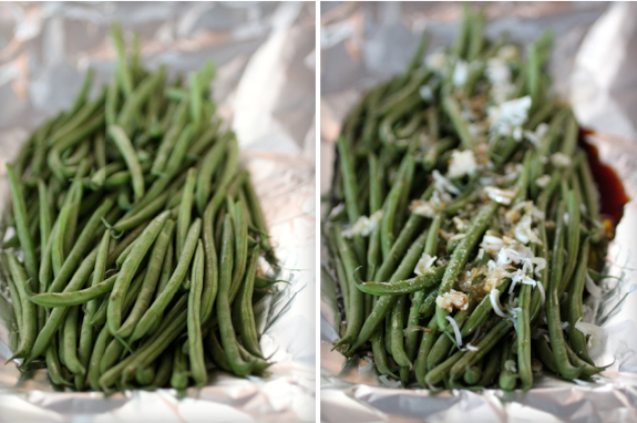Haricots Verts with Korean Marinade