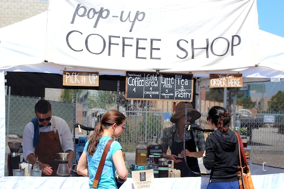 POP UP COFFEE