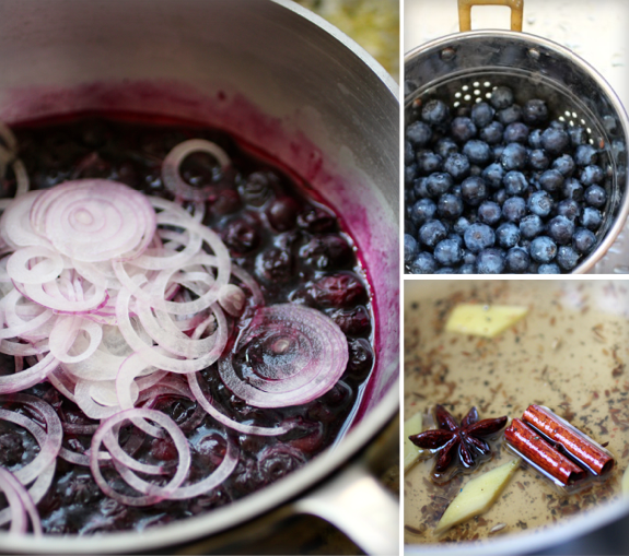 Savory Blueberry Compote Recipe