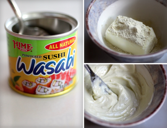 Wasabi goat butter Recipe