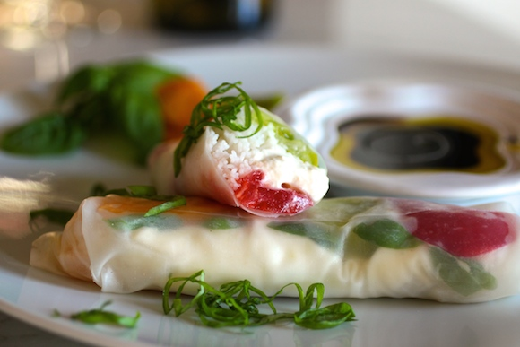 """End of Summer Rolls"" Caprese-Style"