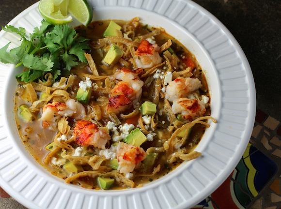 Lobster Tortilla Soup