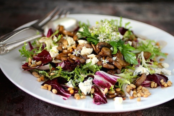 Sauteed+Radicchio Welcome Fall: Radicchio and Sautéed Mushroom Salad ...