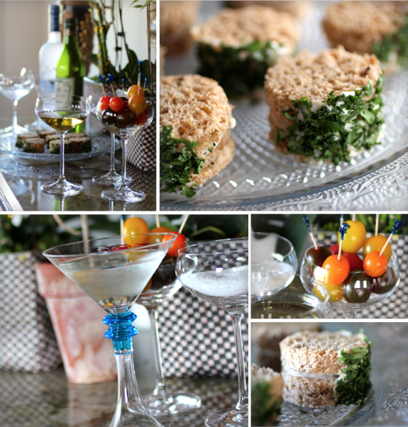 Cocktail Nibbles Inspired by James Beard