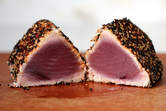 Togarashi Crusted Ahi Recipe