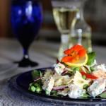 Chef Sam Choy's Bow-tie Mahimahi Salad