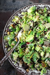 A Fresh California Twist on Brussels Sprouts