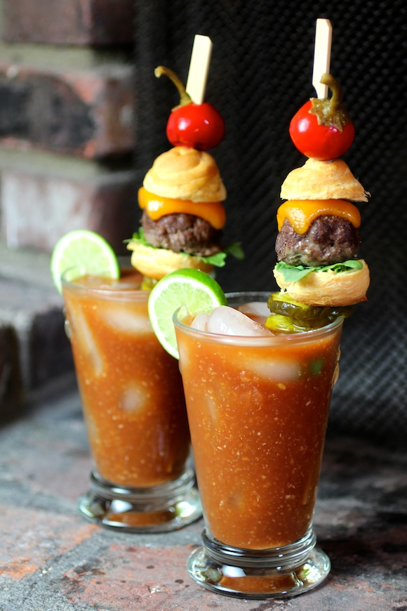 Cheeseburger Bloody Mary