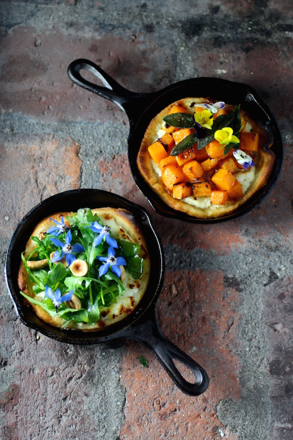 Irresistible Mini Cast Iron Skillet Pizzas