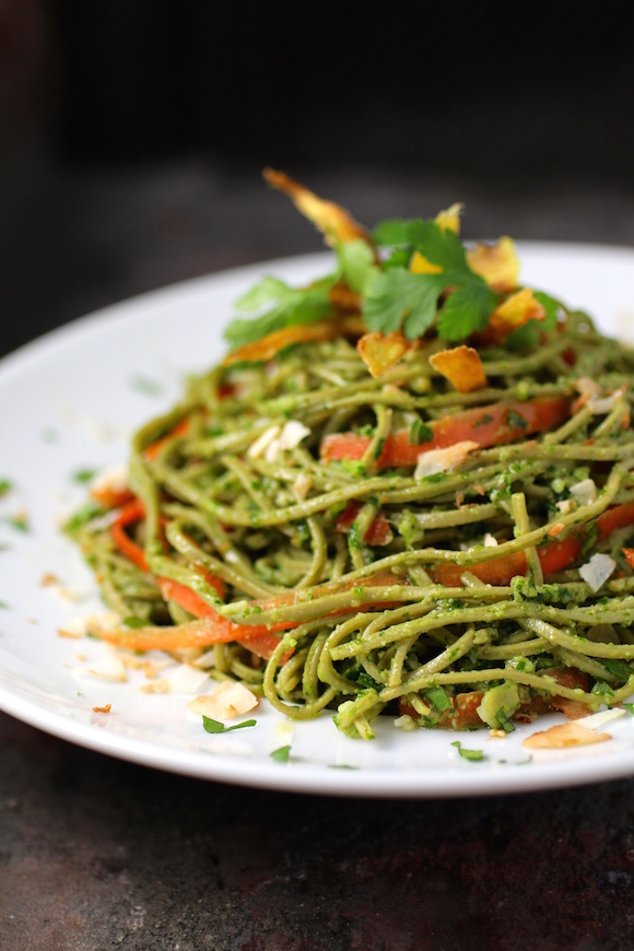 #GlutenFree Pasta made from Green Soybeans