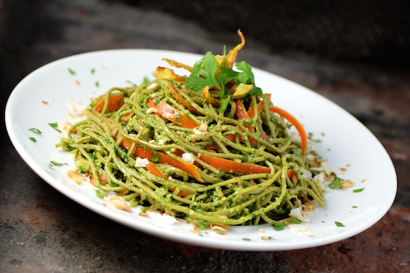 Edamame Spaghetti - A Pasta Made of Green Soybeans