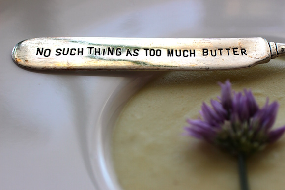There is no such thing as too much butter.