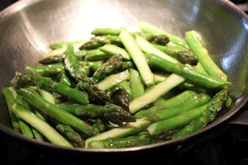 pan-roasted aspsargus recipe