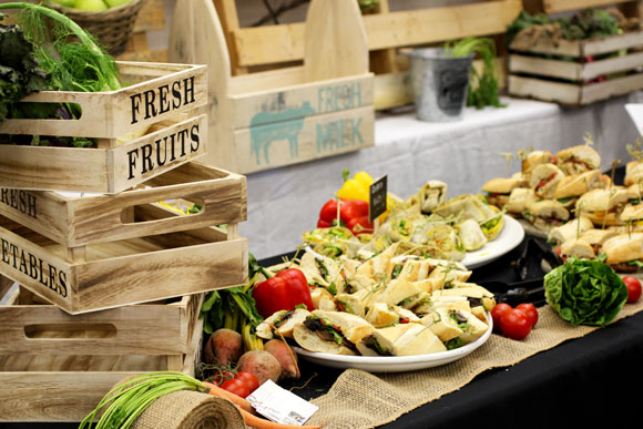 teacher appreciation luncheon farmers market theme taste with