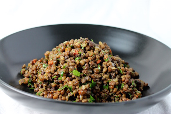 """Steakhouse-Style"" Lentil Recipe"