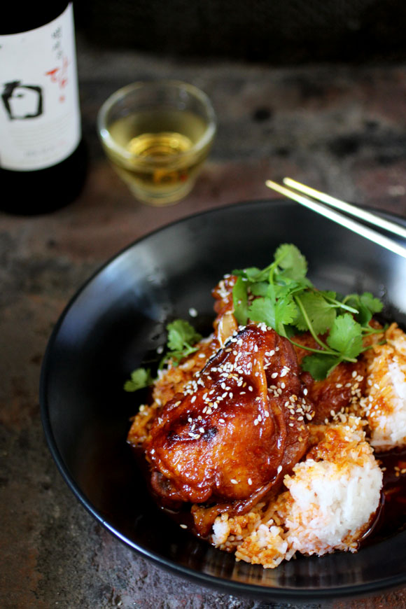 Korean-Filipino Chicken Adobo