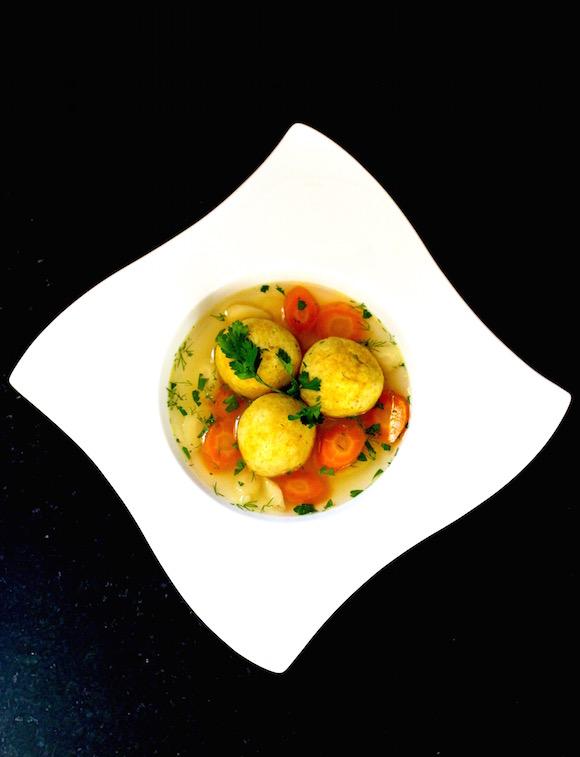 Chicken Soup with Exotic Saffron Matzoh Balls - Taste With The Eyes ...