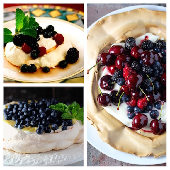 Four Fabulous Pavlova Recipes
