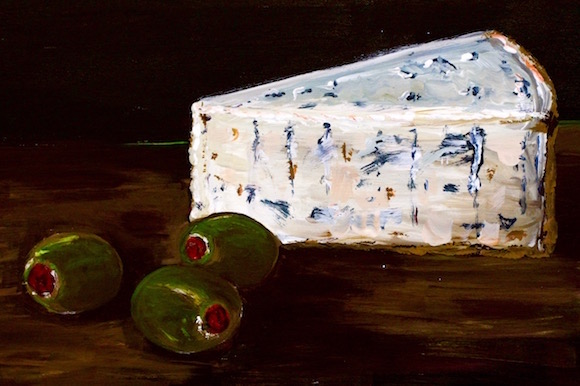 How to Make Bleu Cheese (acrylic on canvas)