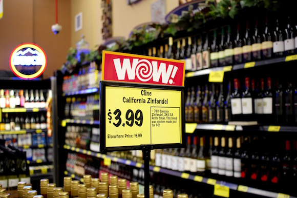 #GroceryOutlet Elegant Yellowfin Tuna Dinner WITH a Glass of Wine for Under $4.00 per Person!