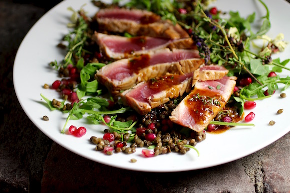 Food & Wine Pairing: Ahi and Pinot Noir