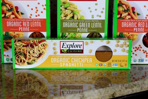 Explore Cuisine Chickpea Spaghetti