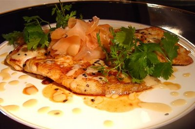 Wild caught petrale sole two sauces taste with the eyes for Petra josting