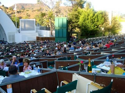 Hollywood bowl picnic taste with the eyes for Hollywood bowl terrace 5