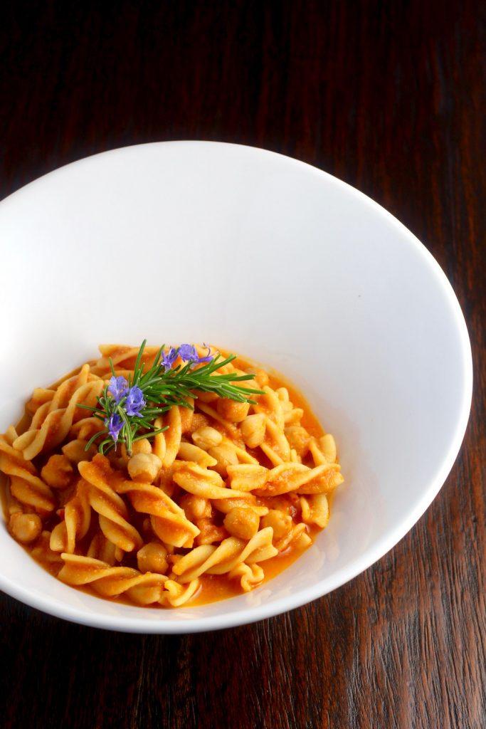 Chickpea Lovers Pasta e Ceci #glutenfreevegan