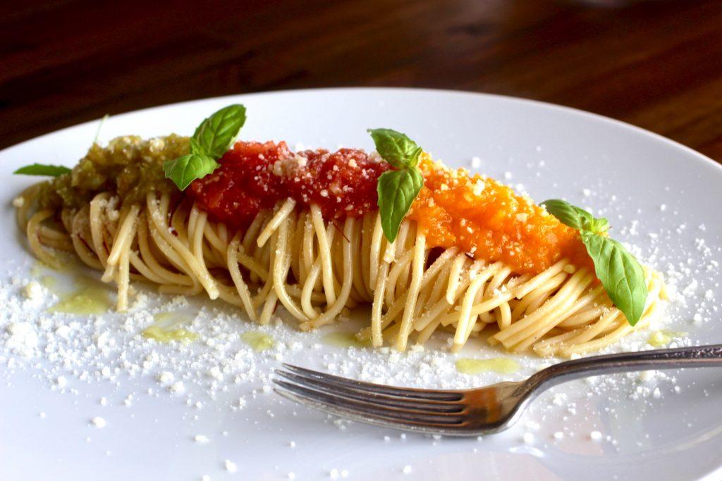 Spaghetti al Pomodoro with a Twist