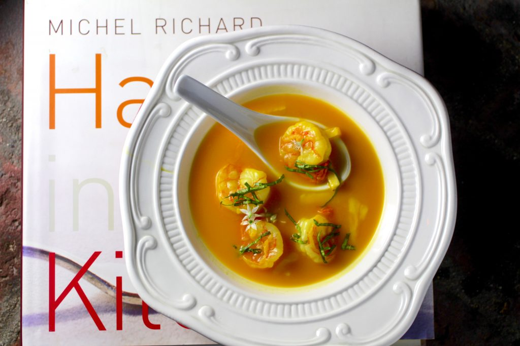 Michel Richard's Asian Bistro Soup with Shrimp