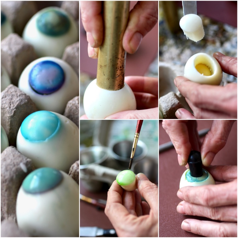 How To Make DEVILED EYES