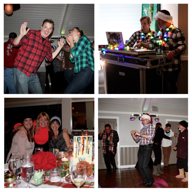 Ski Lodge Theme Holiday Party: Baby It's Cold Outside!