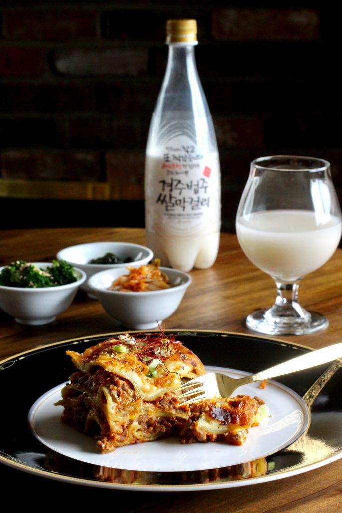 Kimchi Lasagne