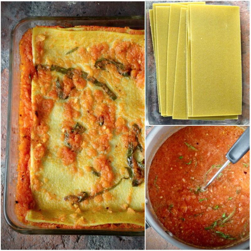 Zucchini Quinoa Meatballs, Green Lentil Pappardelle, Fresh Tomato Sauce