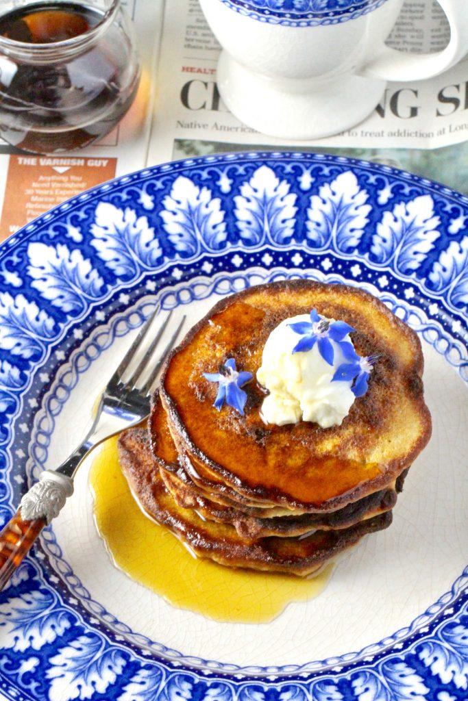 Oatmeal Pancakes #glutenfree