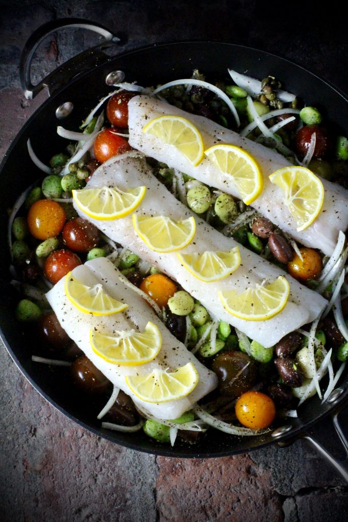 FROZEN: Alaskan Cod and Heirloom Fordhook Lima Beans